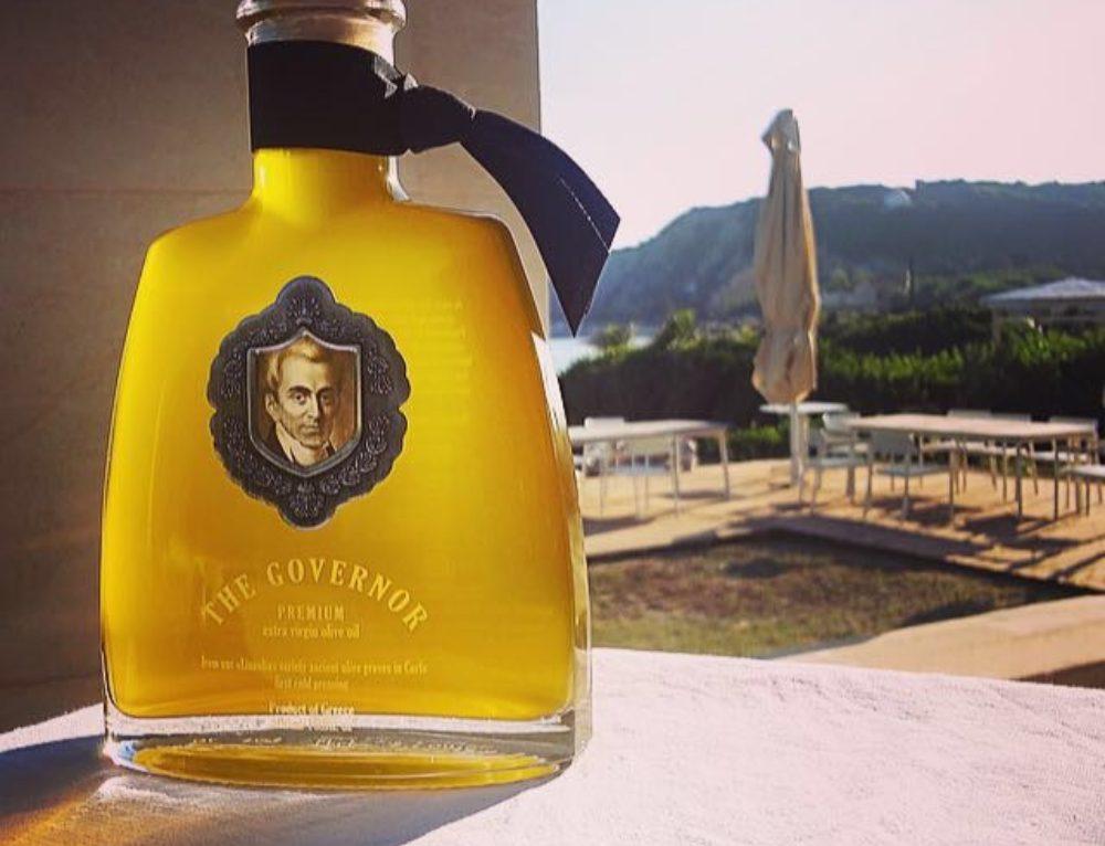 """Qual è la relazione tra un famoso romanziere inglese e l'olio di oliva """"The Governor""""?"""